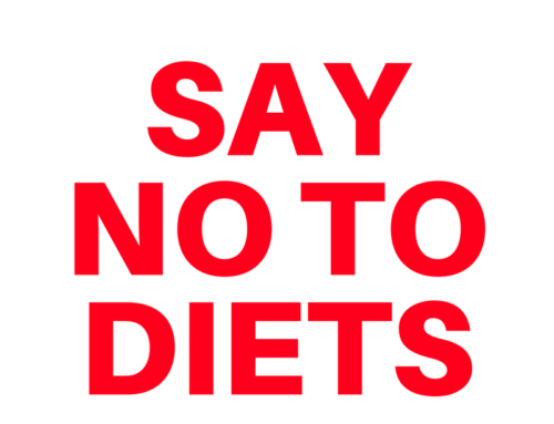Just Say No To Diets!